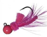 Aerojig Hawken Hackle Hot Pink Fishing Jig Gamakatsu Hook Choice Of Sizes