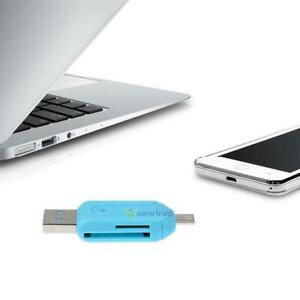 Dual-Port-OTG-USB-2-0-For-SD-T-Flash-Memory-Card-Reader-Adapter-For-PC-Laptop-R1