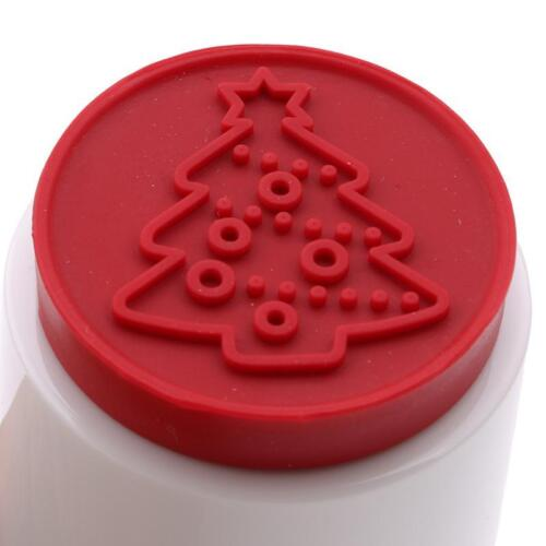 Cartoon Stamps Molds Christmas Tree Cookies Cutter Biscuit Home Mould Baking S