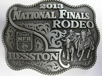 National Finals Rodeo Hesston 2013 Nfr Adult Cowboy Buckle Wrangler Agco