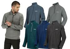 Regatta Mens Montes Fleece Sweater Half Zip Lightweight Micro Jumper Pullover