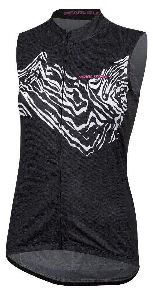Pearl Izumi Women's SELECT Escape Sleeveless Elasticized Graphic Jersey 11221829