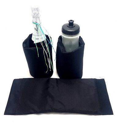 WunderschöNen 3xschwarze Kühlmanschette Sektkühler Flaschenkühler Getränkekühler Quick Chill Ideales Geschenk FüR Alle Gelegenheiten Kochen & Genießen