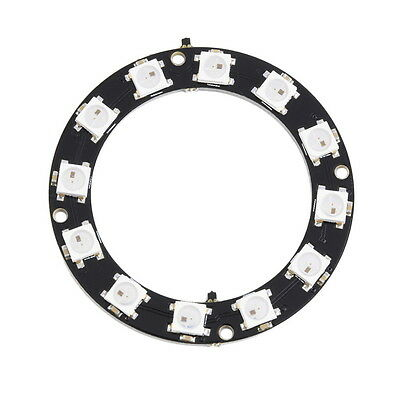 1pc 5050 12-Bit RGB LED Ring WS2812 Round Decoration Bulb Perfect For Arduino LD