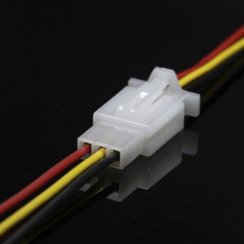 10x KFZ 2//3//4-Polig mit Kabel Steckverbinder Auto Stecker Wasserdicht Verbinder