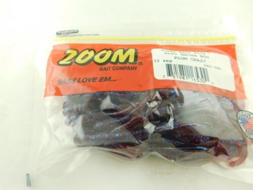 Zoom Super Salt Baby Brush Hog Plum Crazy New in pack of 12