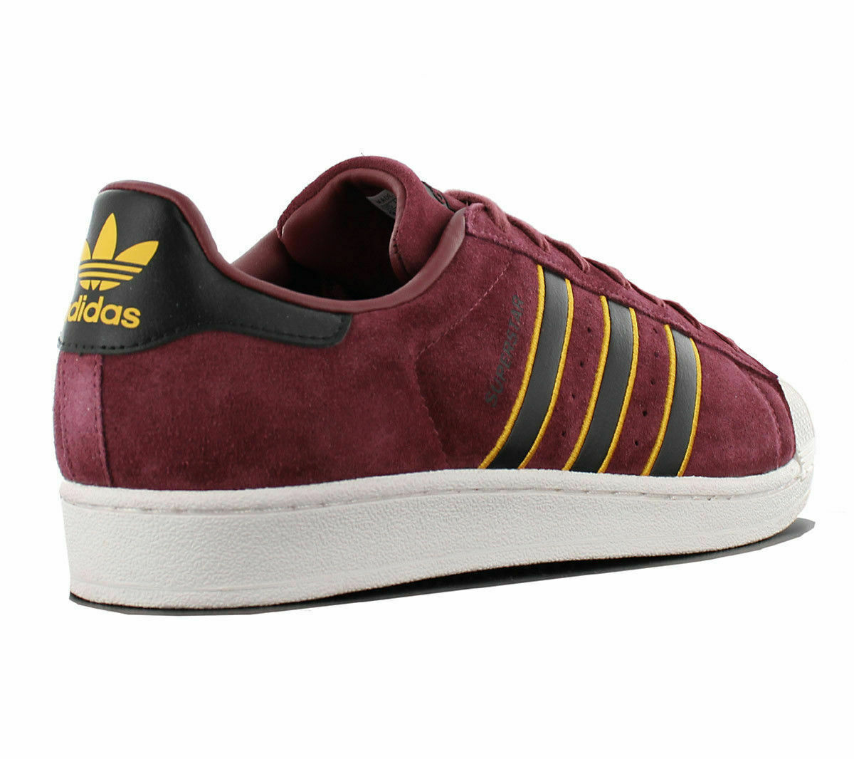 ADIDAS ORIGINAL SUPERSTAR SHELL SHELL SHELL SNEAKER MEN SHOES RED BLACK CM8079 SIZE 11 NEW 7622c3