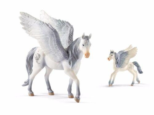 SCHLEICH 70522 Pegasus con 70543 Pegasus puledri novità 2017!
