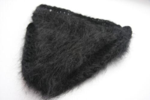 Premium mohair Panties Underpants Cowards Black Jane Rodas Mohair FETISH