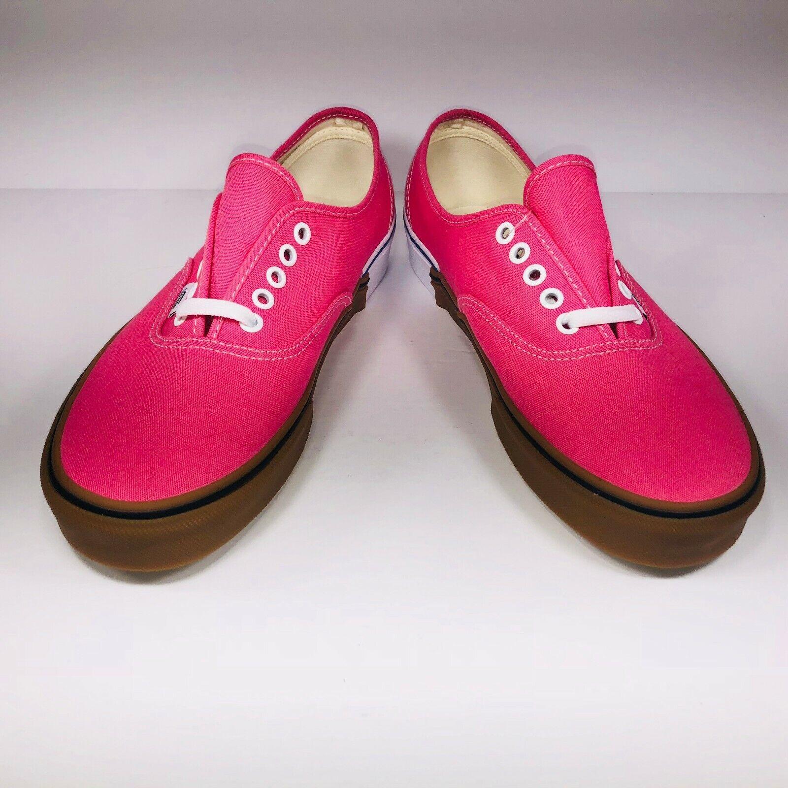 VANS Authentic Gum Block Pink Lemonade White Sneakers Sneakers Sneakers VN0A38EMUKD Size 9.5 7fee9e