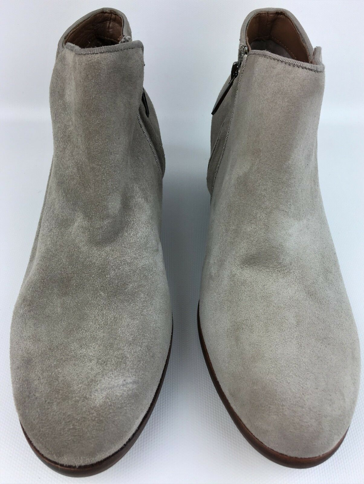 Sam Edelman 'Petty' 'Petty' 'Petty' Putty Gray Suede Ankle Heeled Booties sz: US 7 881353