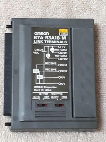 OMRON  B7A-R3A18-M LINK TERMINALS  New with box
