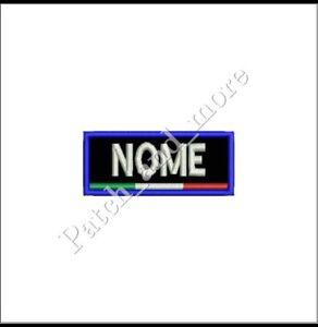 Patch-NOME-SCI-SNOWBOARD-FISI-VEL-CRO-personalizzata-cm-7x3-toppa-ricamo-1012