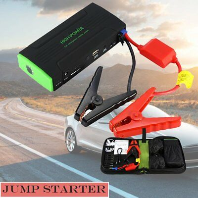 High Capacity 30000mAh Car Jump Starter 12V Charger Battery USB Power Bank