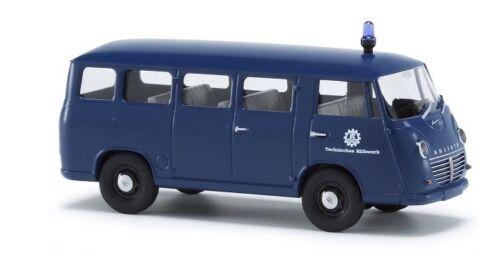 Neu H0 Goliath Express 1100 Kombi Busch 94126-1//87 Mehrzweckfahrzeug Thw