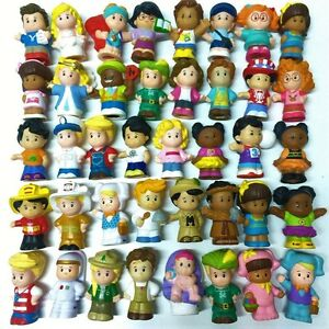 Random 10pcs Boy Girl Toy Fisher Price Little People ...