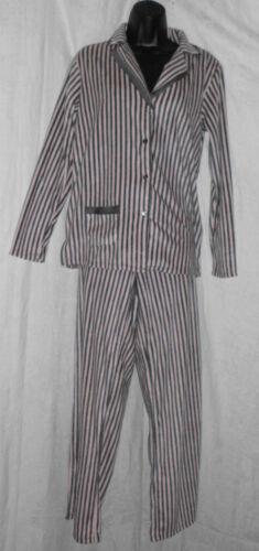 617549575250 a grigie taglia Fleece 68 righe S e Poliestere Klein 2 Nwt Pjs Anne Pile pantaloni 4SnqTZn
