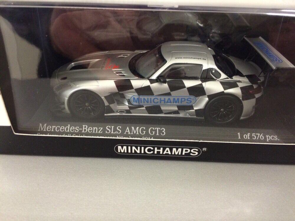 Minichamps 1 43 Mercedes SLS AMG GT 3 Foire Modèle 2014 Jouets Foire Nuremberg