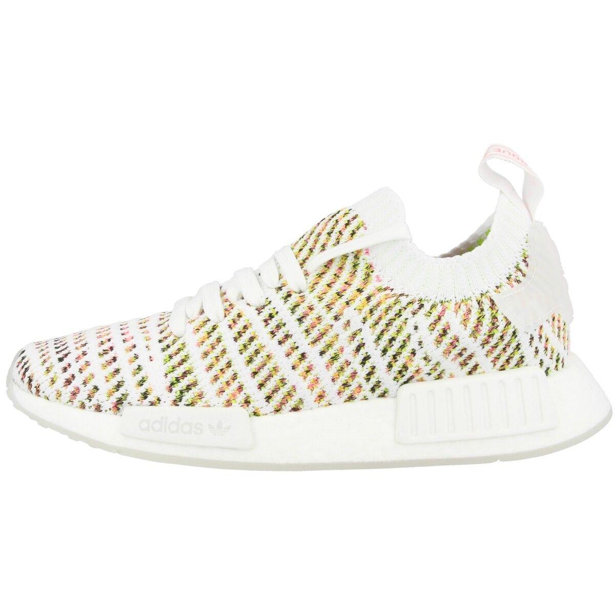 Adidas NMD_R1 STLT PK Primeknit Schuhe damen Damen Turnschuhe Weiß Gelb B43838