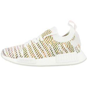 Stlt Adidas Pk Zapatos Primeknit R1 Zapatillas Mujer Nmd B43838 Blanco Yellow rEqtES