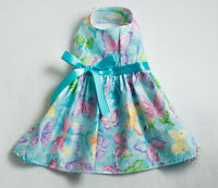 M Spring Aqua Butterfly Dog Dress Clothes Pet Clothing Medium Pc Dog®