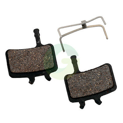 2 Pair MTB DISC BRAKE PADS ORGANIC COMPOUNDS FIT AVID BB7 JUICY 3 5 7 Ultimate