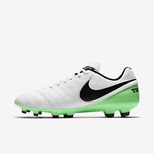 pretty nice 6d9be 26fbc item 1 NEW Nike Tiempo Genio II Leather FG Men s White Electro Green 819213  103 SZ 10 -NEW Nike Tiempo Genio II Leather FG Men s White Electro Green  819213 ...