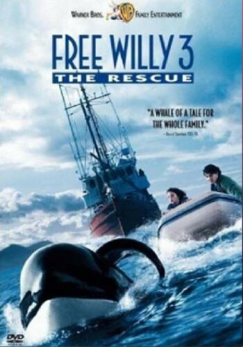 1 of 1 - FREE WILLY PART 3 THE RESCUE DVD New Sealed Original Genuine UK Release