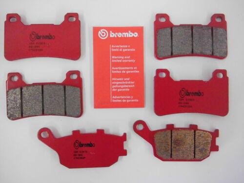 Brembo Bremsbeläge Bremsklötze Bremse vorne hinten Honda CBR 1000 RR Fireblade