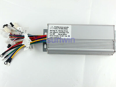 72V 500W Electric Bicycle Brushless Speed Motor Controller For E-bike & Scooter