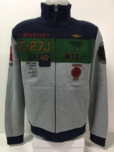 pijlen Heren S Militare Fe1127 Tricolori Pilot sweater Ba 46 Aeronautica PBSqrwIB