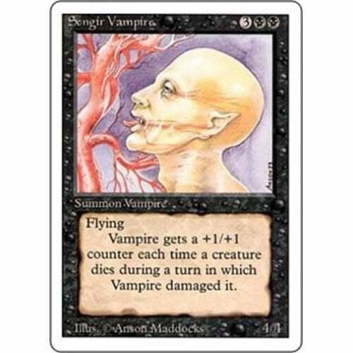 MTG REVISED Condition: Good 3RD EDITION * Sengir Vampire