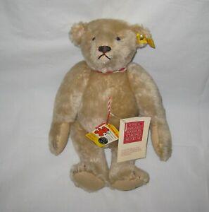 Vintage-Teddy-Bear-Jointed-12-Steiff-0157-32-Replica-1904