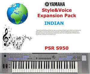 Details about Yamaha PSR S950 INDIAN Expansion Pack