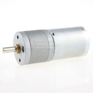 25mm-12V-300-U-min-Modellbau-Getriebemotor-Gleichstrommotor
