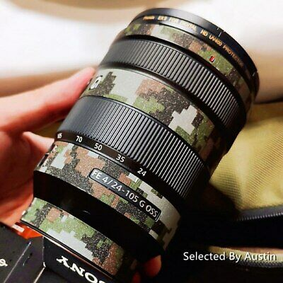 RAYANSPHOTO Lens Guard Skins Wrap Cover Decal Protector Wear Case for Sony Zoom Lenses Series Matte Black 10-18//F4