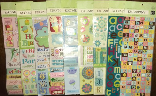 K/&Company NEW BABY Stickers NEW