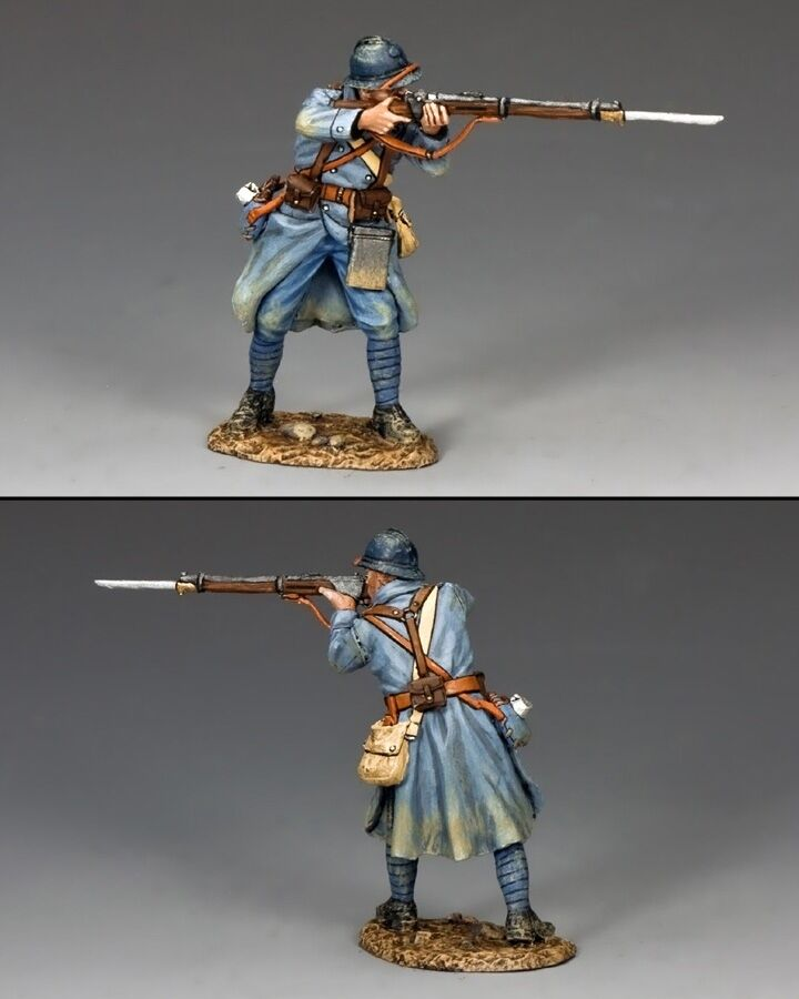KING AND COUNTRY WW1 French Poilu Standing Firing FW153
