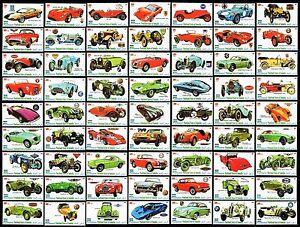 Voiture Timbres-automobile Collection-large 66 Stamp Set (2010 Neuf Sans Charnière)-afficher Le Titre D'origine Jouir D'Une RéPutation éLevéE Chez Soi Et à L'éTranger