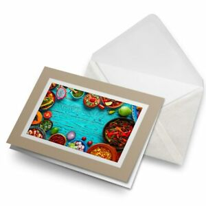Greetings-Card-Biege-Mexican-Traditional-Food-Mexico-21869