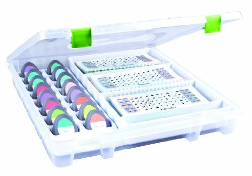 Crafts Art Bin ArtBin Cricut Cartridge Storage Case Organizer Box Tray Tote New