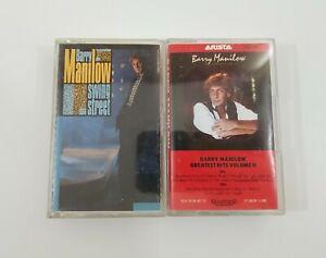 Barry Manilow Cassette Lot - Swing Steet - Greatest Hits Volume II