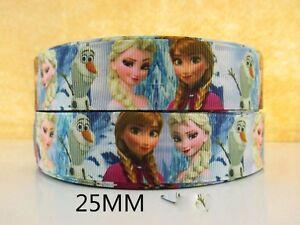Humour 2 Mètre Elsa Anna + Olaf Ruban Taille 1 In (environ 2.54 Cm) Noeuds Bandeaux Gâteau D'anniversaire Cheveux-afficher Le Titre D'origine Acheter Maintenant
