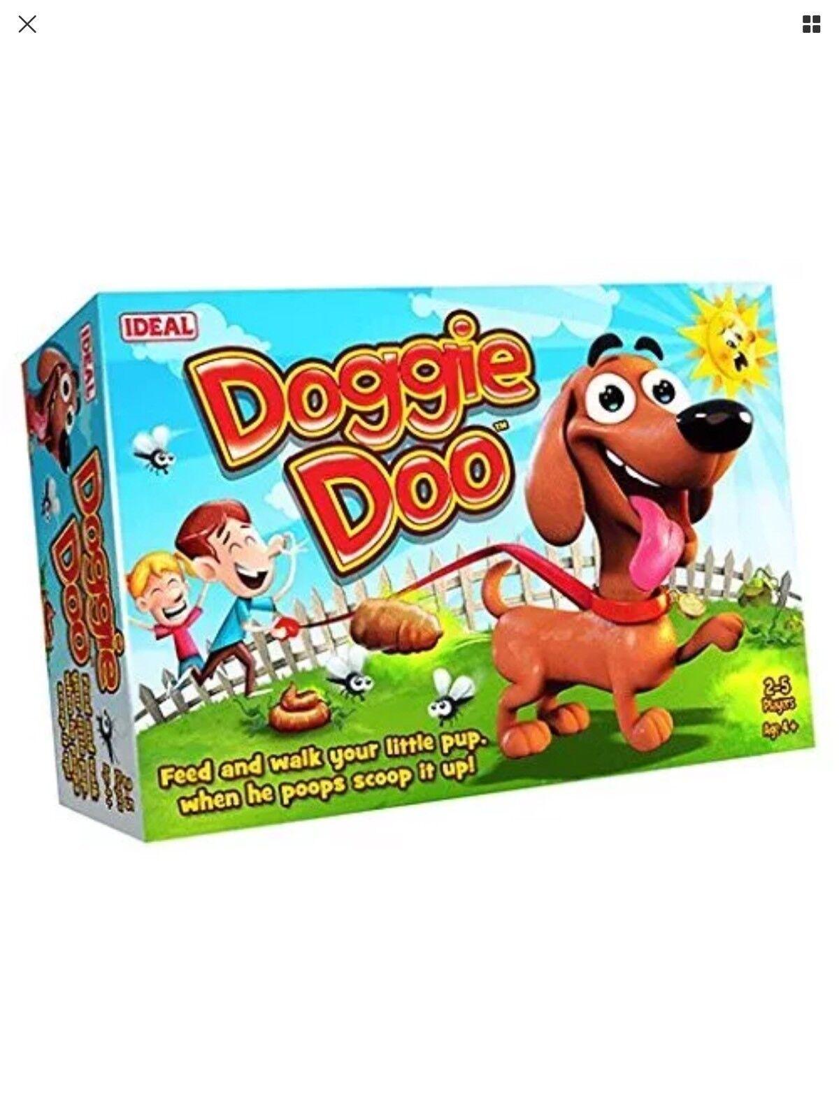 IDEAL  Doggie Doo Game New Sealed Ship Worldwide