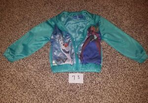 bf8b765c4 Disney s Frozen character light weight turquoise jacket