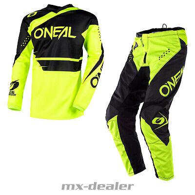 ONEAL Elemento Shocker Orange combo MX DH MOTO CROSS Pantaloni Jersey MOTO ENDURO