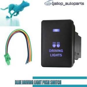 Push-Switch-Blue-Driving-Lights-For-Mitsubishi-Triton-MQ-MR-Outlander-ZK-LED