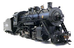 HO-Scale-Model-Railroad-Trains-Engine-Santa-Fe-2-8-0-DCC-Sound-Steam-Locomotive