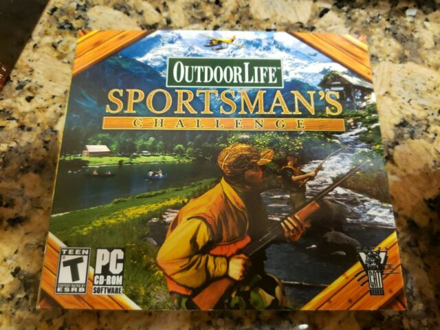 OUTDOOR LIFE SPORTSMAN'S CHALLENGE PC CD BRAND NEW FREE SHIPPING