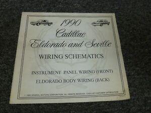 1990 Cadillac Eldorado & Seville Electrical Wiring Diagram Schematics  Manual | eBayeBay